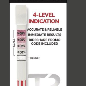 T2 Single-Use Breathalyzer